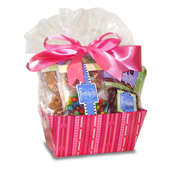 Valentine S Day Gift Chocolate Covered Pretzels Gift Basket